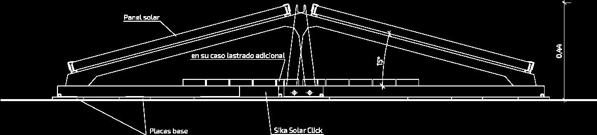 Sección: Orientación este/oeste
